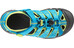 Keen Newport H2 Sandals Children Hawaiian Blue/Green Glow